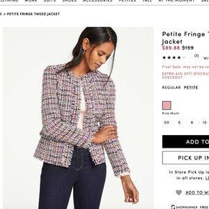 Ann Taylor Petite Woven Jacket